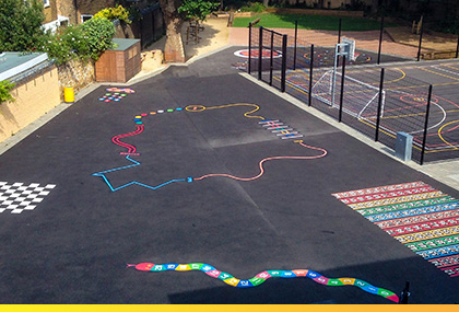 IMAGINATIVE PLAYGROUND SURFACES